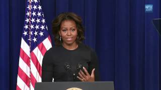 Will College Costs Go Down? Michelle Obama on College Tuition & Student Loan Debt (2014)