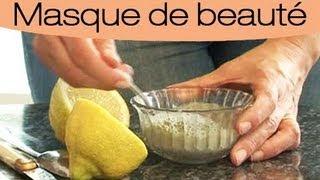 Comment faire un masque à l'argile verte et au citron