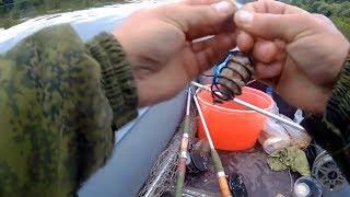 Рыбалка на Оке. Ловля ЛЕЩА на сало .