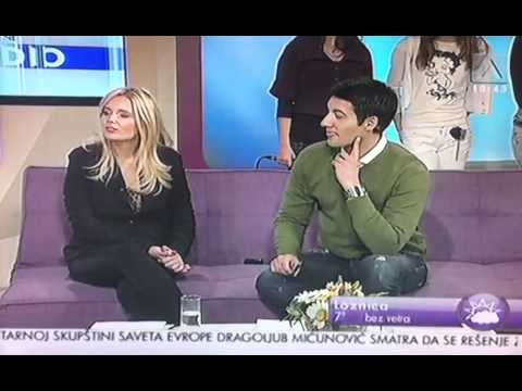 Aleksandra Radovic @ TV Avala, gostovanje sa svojim ucenicima