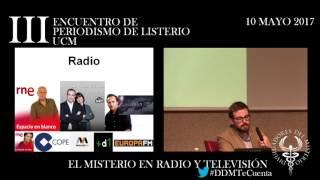 El Misterio en radio y televisión por Guillermo Verdin