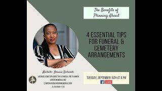 S4E2 - 4 Essential Tips For Funeral & Cemetery Arrangements