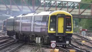 Trains at Basingstoke 20/08/18