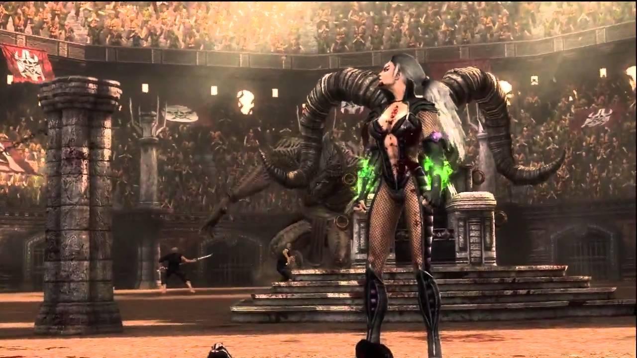Sindel Resurrection (Mortal Kombat Komplete Edition) - YouTube