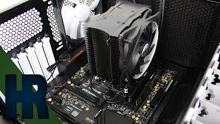 Mainboard einbauen Motherboard Blende Installieren Tutorial Deutsch - PC Bauen Part #6