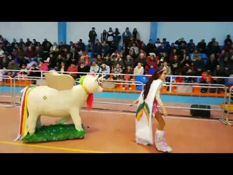 Éxito de participación en el desfile de disfraces de Abadín