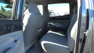 2011 TOYOTA TACOMA 4WD DOUBLE V6 AT Redding, Eureka, Red Bluff, Northern California, Sacra