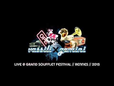 vassili gemini electroswing DJ-set @ festival Le Grand Soufflet 2015 - Rennes