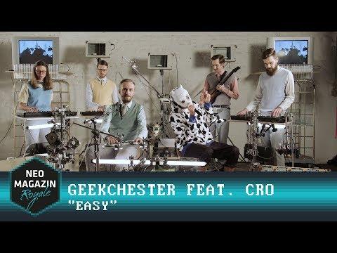 Cro feat. Geekchester – Easy | NEO MAGAZIN ROYALE mit Jan Böhmermann – ZDFneo