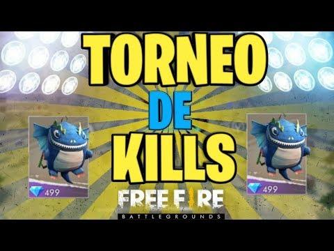 TORNEO DE KILLS   FREE FIRE  