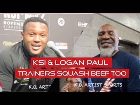 VIDDAL RILEY TO SHANNON BRIGGS 'I APOLOGIZE FOR THAT!' KSI & LOGAN PAUL TRAINERS MAKE AMENDS