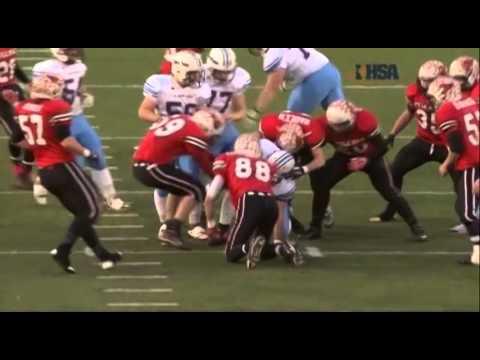 2013 IHSA Boys Football Class 3A Championship Game: Stillman Valley vs. St. Joseph (S.J.-Ogden)