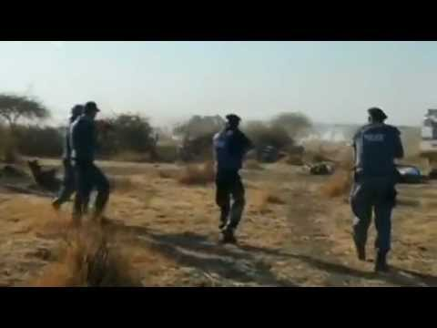 Marikana's miners have been shot by Policemen