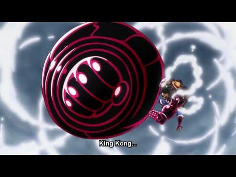 Luffy vs Doflamingo FINAL! KING KONG GUN! HD