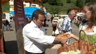 Markttag Paznauner Almkäse 2012 - Vorschau