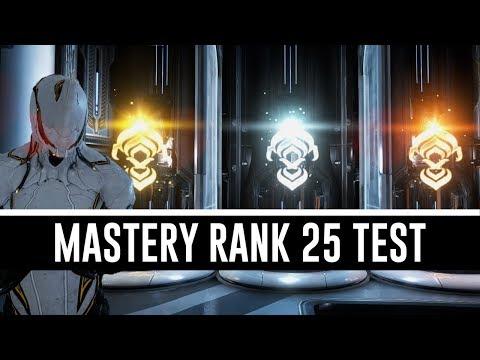 Mastery Rank 25