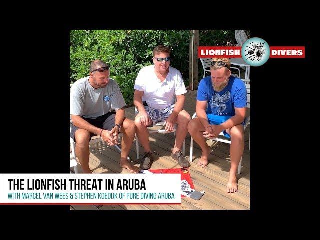 Battling the Lionfish Threat in Aruba - Pure Diving Aruba