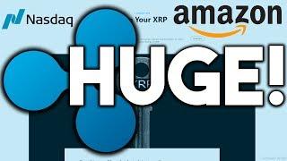 Huge Ripple XRP Update: January 2019! - Amazon Dreams of Ripple Technology! - Nasdaq Adds XRP?