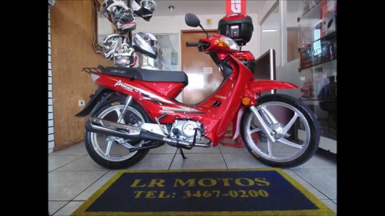 LR Motos - Revisão de Motos - Shineray Phoenix 50 Vermelha ...