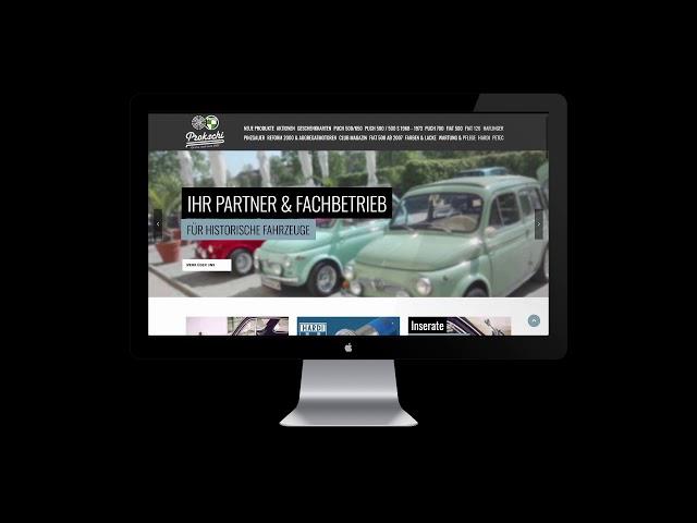 Wie finde ich einen Artikel bei www.prokschi.at