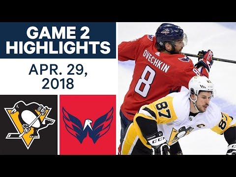 NHL Highlights | Penguins vs. Capitals, Game 2 - Apr. 29, 2018