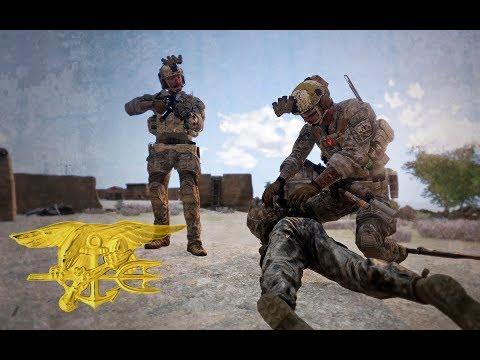 U.S. Navy SEALs Intense Cinematic Raid (Arma 3 Machinima)
