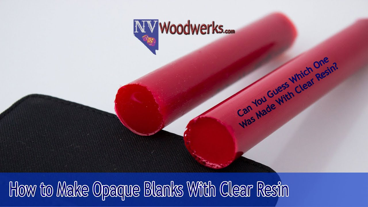 How To Get Opaque Colors Using Clear Casting Resin | Alumilite ...