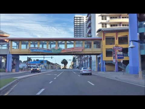 Beach Town Driving - Daytona Beach Florida USA