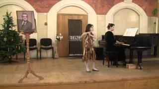 Конкурс Ю.Должикова, Ольга Бендицкая 9 лет, 2-ая премия