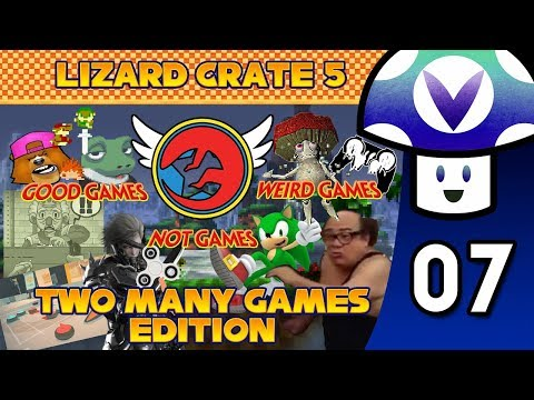 [Vinesauce] Vinny - The Lizard Crate #5: Two Many Games Edition (part 7)