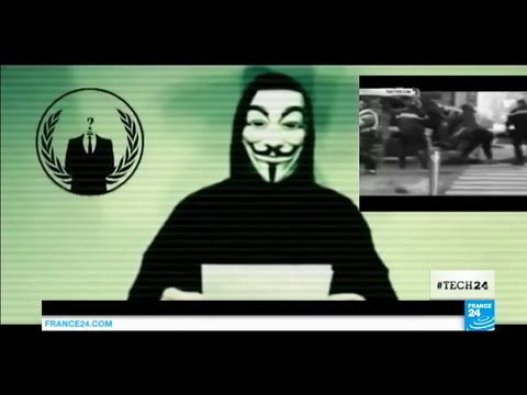 Paris Attacks: Could Anonymous' Hackers