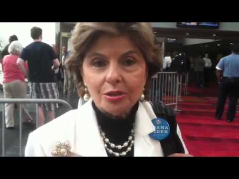 Famous Attorney Gloria Allred, a delegate, gave her impression of her first visit to Charlotte.
