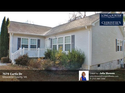Rent: 3 Beds - 2 Baths - 1722 Sq Ft - Gloucester County - VA [$1,495] MLS #: 10292669