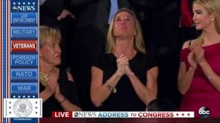 Carryn Owens standing ovation