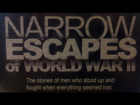 Narrow Escapes of World War II [Volume 1 Part 5/5] - Lucky Laycock's Escape from Crete