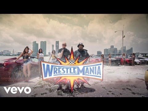 WrestleMania 33 : Theme Song - Greenlight ( Pitbull ft. Flo Rida, LunchMoney Lewis ) - Arena Effect