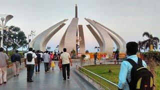 Amma Samadhi Chennai | MGR & Jayalalitha Tomb Memorial In Marina Beach Chennai