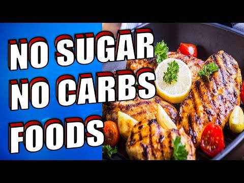 11 Best Foods With No Carbs and No Sugar Diet List