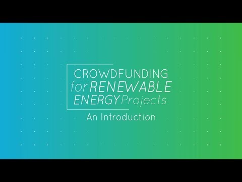 Crowdfunding for RES projects - An Introduction
