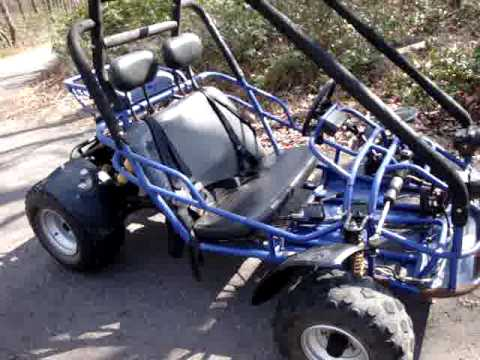 2004 dazon raider classic 150 go kart cart 2 seater 4 sale on ebay 482010 youtube