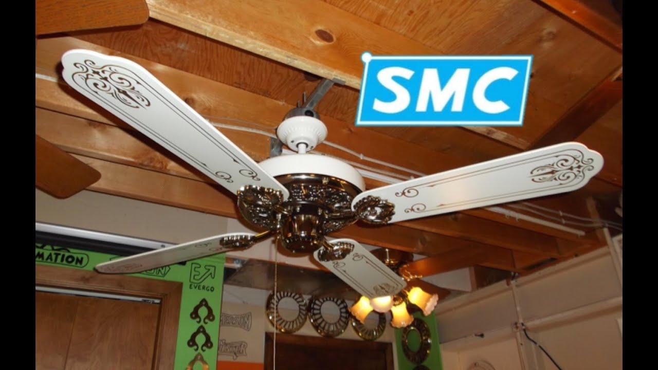 SMC A52 Ceiling Fan (Victorian Ind. Co. R-A52-M) (HD ...