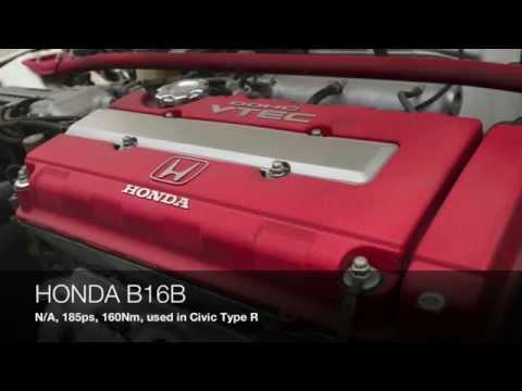Honda Engine Sound! B16A DOHC VTEC vs B16B DOHC VTEC