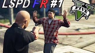 GTA 5 PC - LSPDFR # 1 | Rookie Officer On Duty ! (Police Mod Funny Moments)