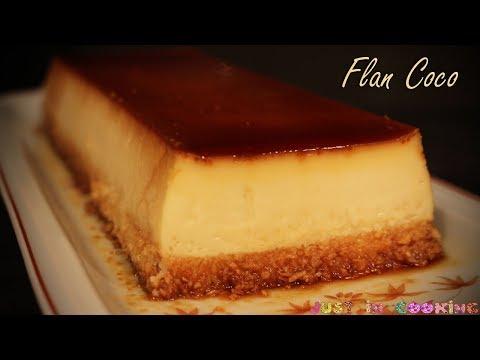 recette-de-flan-à-la-noix-de-coco