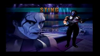Showdown Legends of Wrestling (PS2): Sting Vs Hulk Hogan