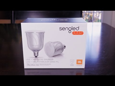 Sengled Pulse 2 in 1 LED Light + Wireless JBL Speaker Review