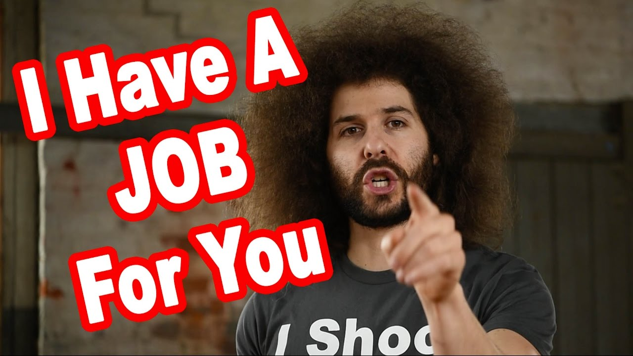 i have a job for you if you want it calling all video shooters i have a job for you if you want it calling all video shooters and editors