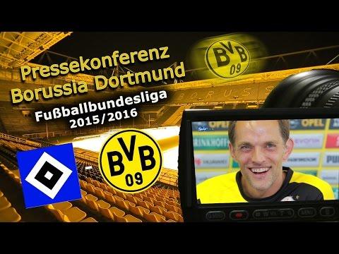 Hamburger SV - Borussia Dortmund: Pk mit Henrikh Mkhitaryan und Thomas Tuchel
