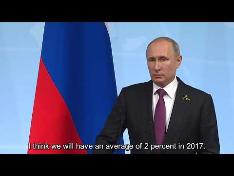Putin: Russia will have an average growth of 2% in 2017