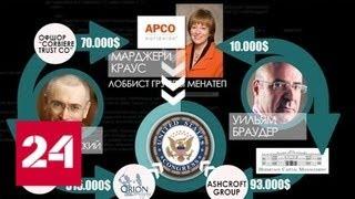 Авторская программа Аркадия Мамонтова. Бархат - Россия 24